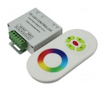 Контроллер RGB сенсорный модулей и лент 216W (18A), 12V