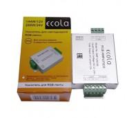 Усилитель для RGB ленты, 12А, 144W, Экола