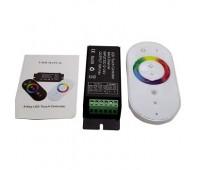 RGB touch-контроллер PREMIUM белый, 18A, 216W, 18 режимов