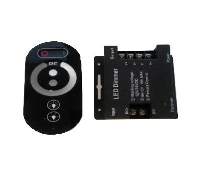 Контроллер с пультом сенсорный 288 Вт (диммируемый)