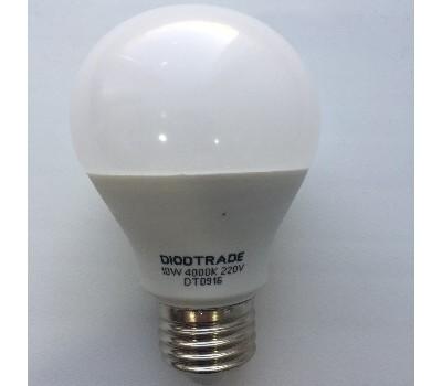 Светодиодная лампа груша цоколь A60 E27 220V - 10W 4000K