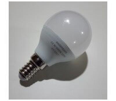 Светодиодная лампа шар цоколь Е14 220V - 11W 4000К