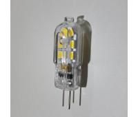 Светодиодная лампа цоколь G4 PLP 12V - 4W 4000К