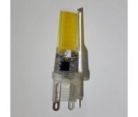 Светодиодная лампа цоколь G9 1COB 220V - 5W 4000К