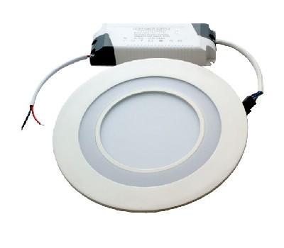 Светодиодный светильник с лампой, 3-режимный с синим двойной круг TD-03, 7 W