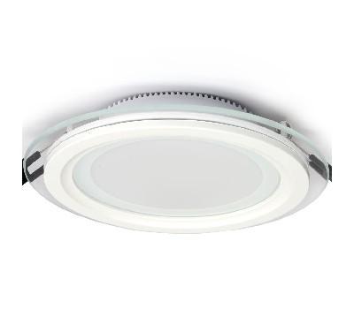 Светодиодный светильник с лампой, стеклянный ободок SMD 3-режимный, 8 W, 14 W, 20 W