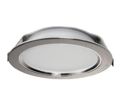 Светодиодный светильник с лампой, 3-режимный TD-02 6 W хром