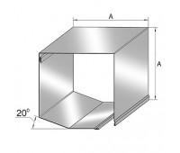 Короб защитный роллетный SB45/180