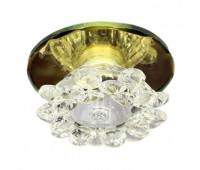 Точечный светильник 1157-1 золото - цоколь G9