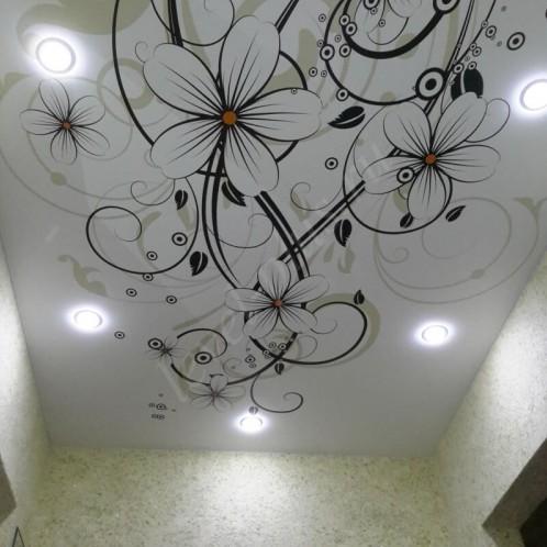 Фотопечать натяжные потолки коридор