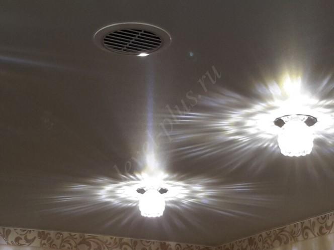 Матовые натяжные потолки вентиляция