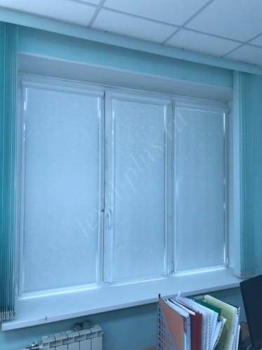 Рулонные шторы люкс офис