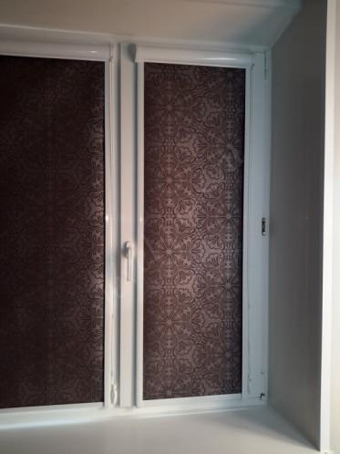 Рулонные шторы люкс спальня