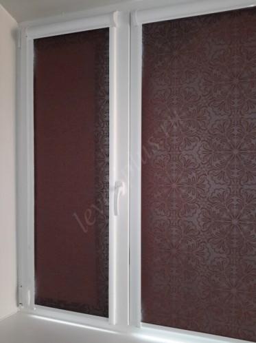Рулонные шторы люкс плотная ткань
