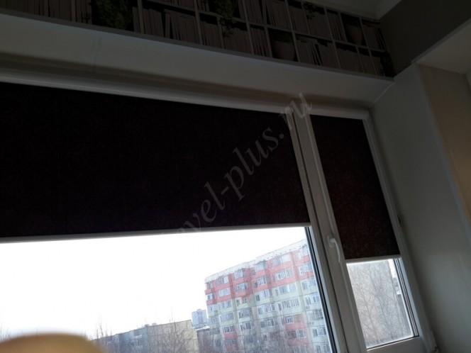 Рулонные шторы люкс широкое полотно